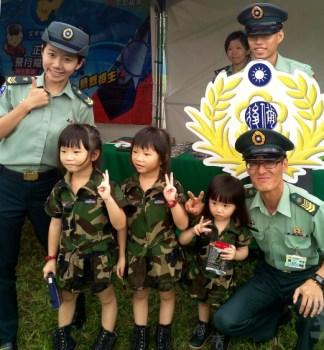 國軍響應迷彩嘉年華會 吸引青年學子貼近國防