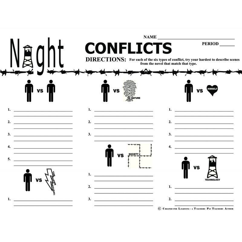 Worksheet. Night Elie Wiesel Worksheets. Hunterhq Free