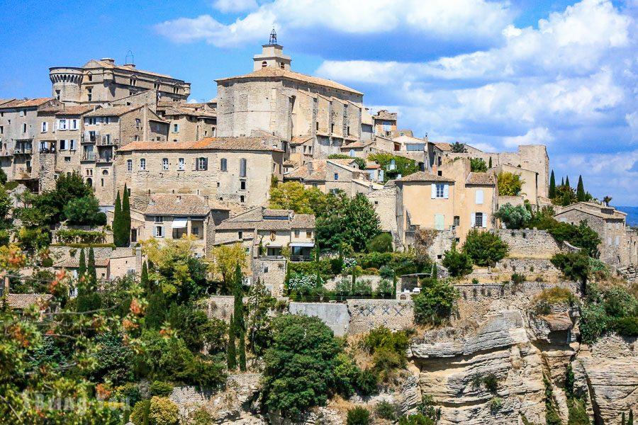 【南法景點】索村Sault薰衣草,紅土城Roussillon,石頭城Gordes,塞南克修道院,水泉村   BringYou