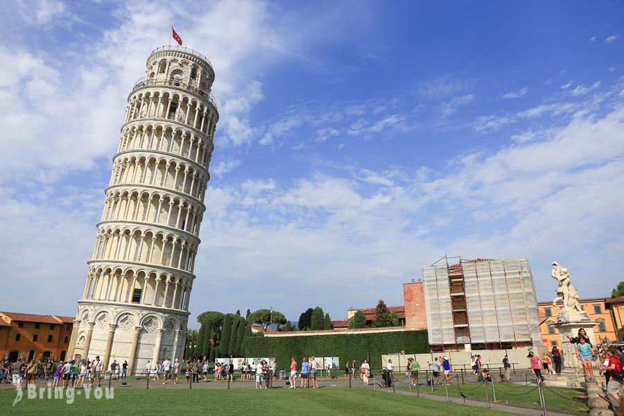 【義大利景點】比薩斜塔(Torre di Pisa)拍照與現場都很有梗的那座塔之交通方式 | BringYou