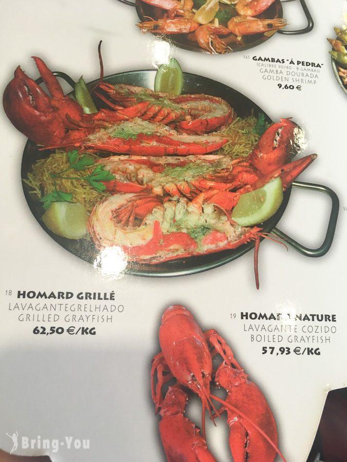 【巴黎美食】Pedra Alta 龍蝦牛排:超好吃海鮮拼盤!必吃CP值高人氣名店(含菜單) | BringYou