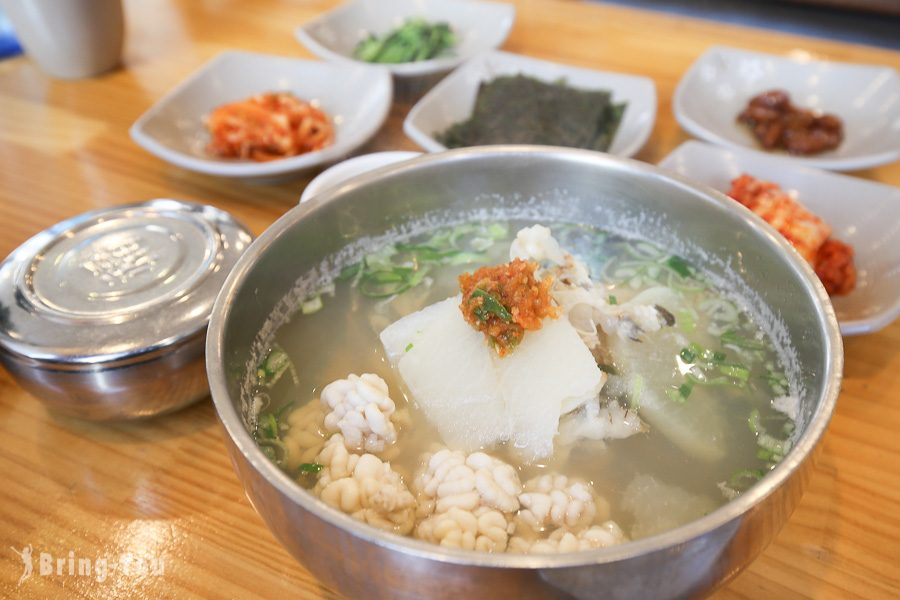 【釜山海雲臺市場】心愛的鱈魚湯정든대구탕(鱈濃湯)   BringYou
