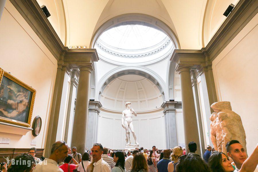 【義⼤利佛羅倫斯】學院美術館:世界美術最高學府必看⽶開朗基羅「⼤衛像」   BringYou
