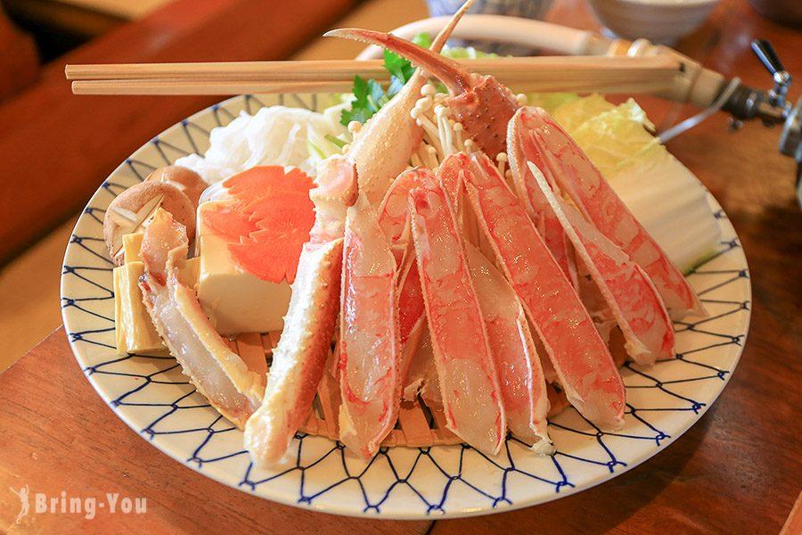 【新宿美食】蟹道樂 新宿本店:美味的各式螃蟹料理 - 螃蟹火鍋寶樂套餐 | BringYou
