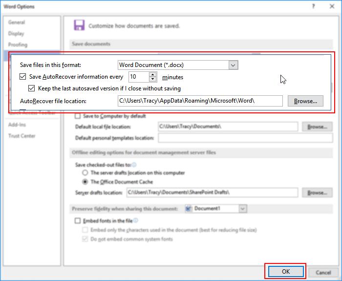 5種方法救援在Windows 10中未儲存/刪除的Word文件 - EaseUS