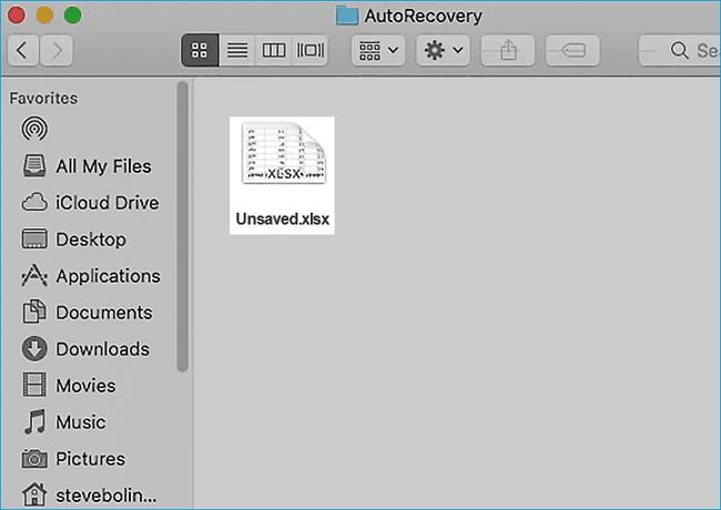 免費|還原Mac機上沒存檔或遺失的Excel檔 - EaseUS