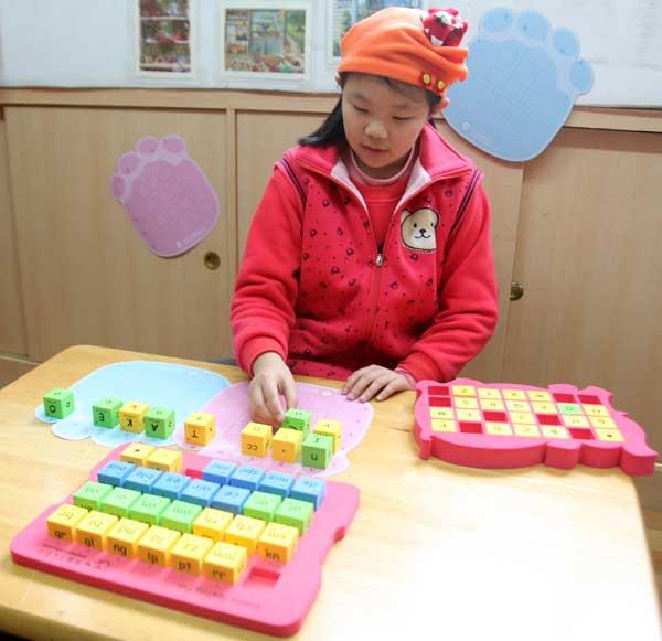 兒童美語玩具 英文字母拼字骰子 自然拼音骰子 英文字母字群骰子