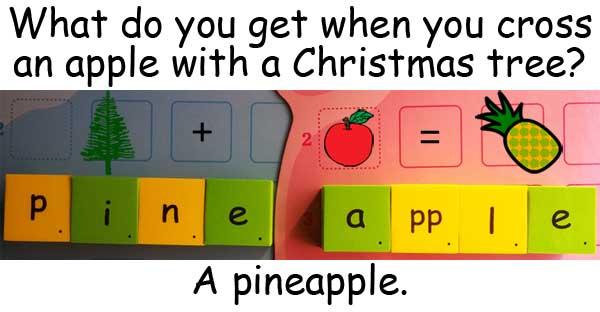 Christmas Xmas 耶誕節 tree 耶誕樹 pine 松樹 apple 蘋果 pineapple 鳳梨