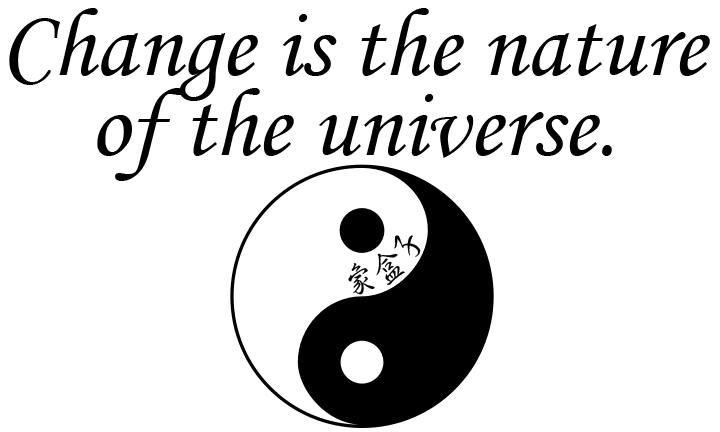 change 改變 變化 I Ching 易經