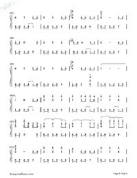 Always with Me-千與千尋片尾曲鋼琴譜檔(五線譜,雙手簡譜,數位譜,Midi,PDF)免費下載