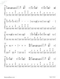 溫柔-五月天《愛情萬歲》鋼琴譜檔(五線譜,音符大,此曲還有還你自由版,PDF)免費下載
