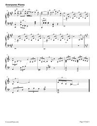 愛-莫文蔚-鋼琴譜(五線譜,雙手簡譜)免費下載