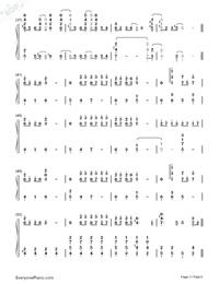 Forbidden Colours-Merry Christmas Mr. Lawrence插曲鋼琴譜檔(五線譜,而且,讓學習口語變得更加輕松,PDF)免費下載