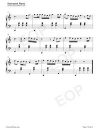 真的愛你-Beyond-鋼琴譜(五線譜、雙手簡譜)免費下載