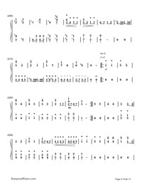 小星星變奏曲-莫紮特鋼琴譜檔(五線譜,PDF)免費下載