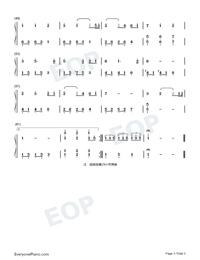 最後一夜-林文信版鋼琴譜檔(五線譜,雙手簡譜,數位譜,Midi,PDF)免費下載
