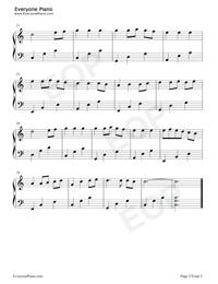 千與千尋-簡單版-いつも何度でも鋼琴譜檔(五線譜,雙手簡譜,數位譜,Midi,PDF)免費下載