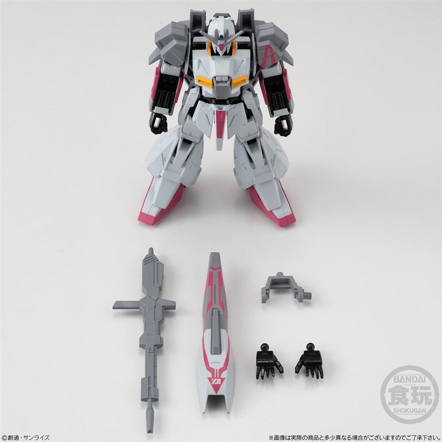 以設定配色的成形色登場!「G FRAME Z鋼彈3號機」決定12月發售!   GUNDAM.INFO
