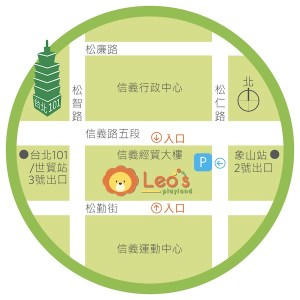 Leo's Map Chinese
