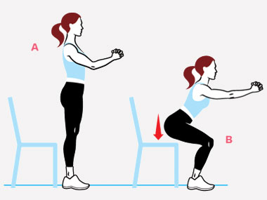 4 ways to improve your squats by TWC Ibiza personal trainer Katie Bolt    TWC Ibiza