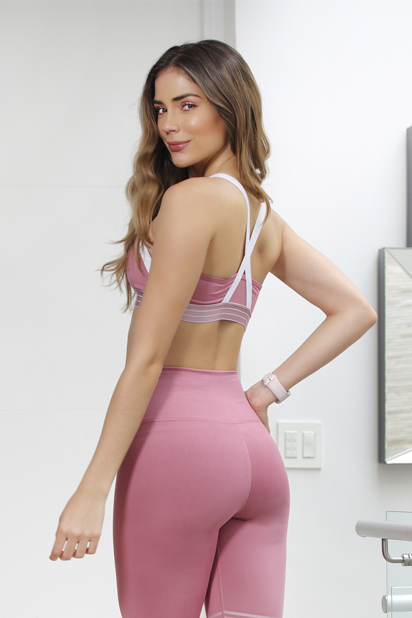Sport Bra Pink Soul