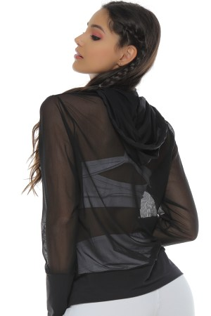 Mesh Black Jacket
