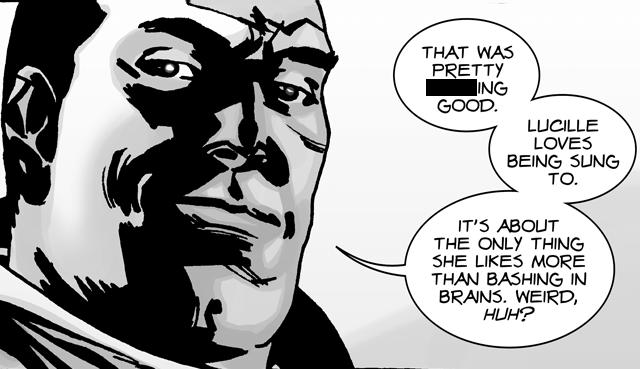 Dopotutto, Negan potrebbe dire parolacce in TV