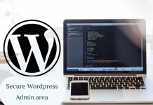 How to secure wordpress admin login page - 2018