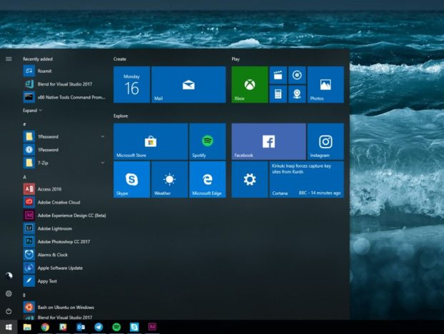windows 10 rs4 v1804