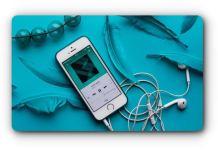 Music and lyrics app