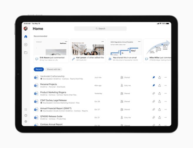 Microsoft Office for iPadOS