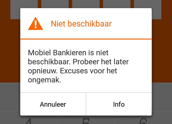 Mobiel Bankieren Bij Ing Kampt Met Storing Update It
