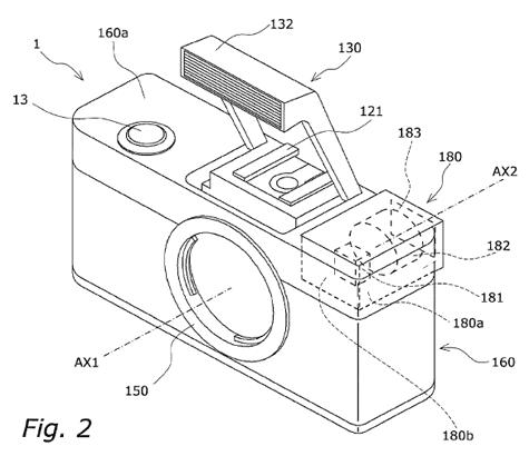 Panasonic-patent verplaatst elektronische zoeker naar de