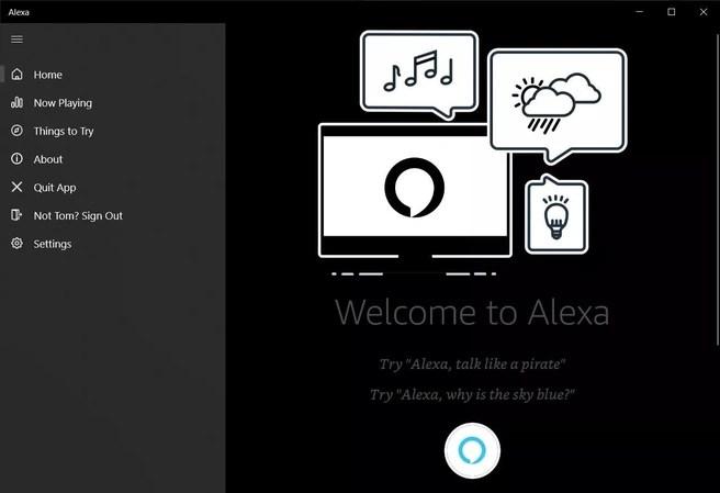 Amazon Alexa for Windows 10
