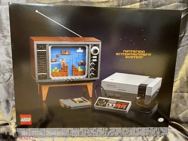 Lego NES y CRT TV - Fotos a través de VJ Gamer