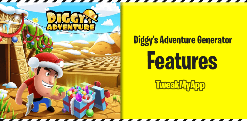 diggys adventure generator features