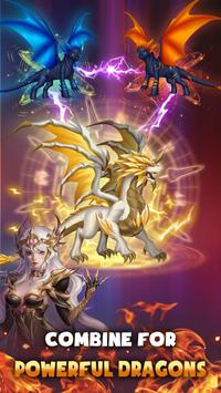 DragonFly: Idle games - Merge Dragons & Shooting poster