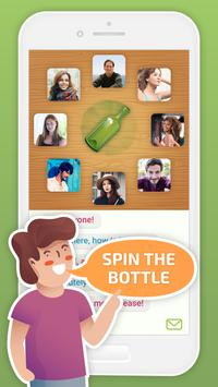 Spin the Bottle: Kiss, Chat and Flirt poster