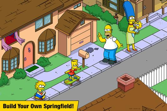 The Simpsons™:  Tapped Out poster