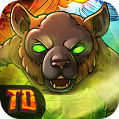 Monsters Tower Defense - Legend Rush Battle TD icon