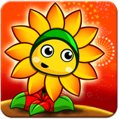Flower Zombie War icon