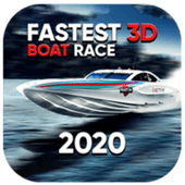 Fastest 3D Boat Race 2020 icon