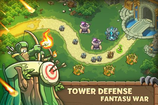 Empire Warriors: Tower Defense TD Strategy Games poster