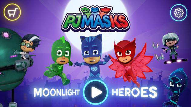 PJ Masks™: Moonlight Heroes poster