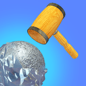 Foil Turning 3D icon