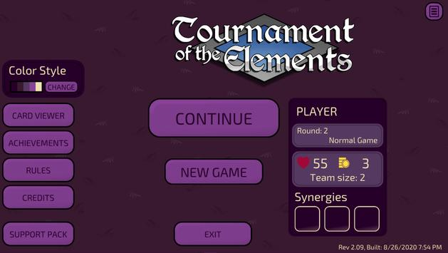 Tournament of the Elements poster