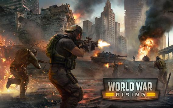 World War Rising poster