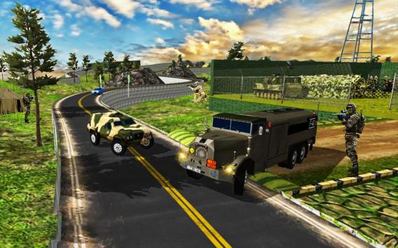 Army Transport Truck Driver : Military Games 2019 screenshot 1