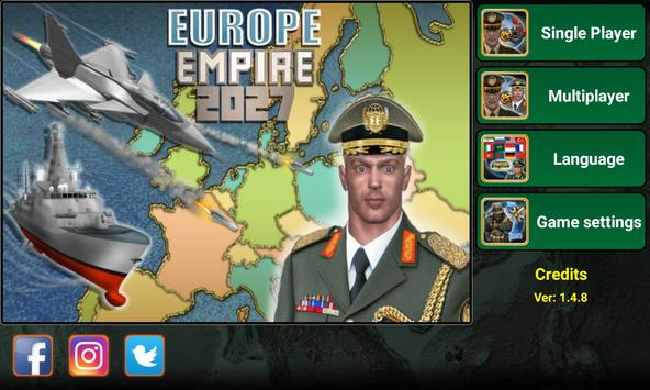 Europe Empire 2027 poster