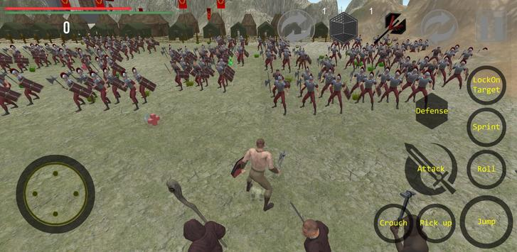 Spartacus Gladiator Uprising: RPG Melee Combat screenshot 1